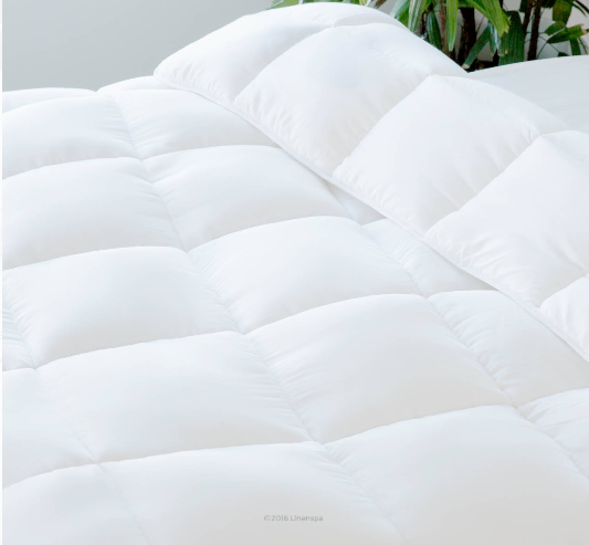 LINENSPA All-Season White Down Alternative Quilted Comforter Review