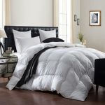 LUXURIOUS 1200 Thread Count Goose Down Comforter review