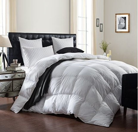 Luxurious 1200 Thread Count Goose Down Comforter Duvet