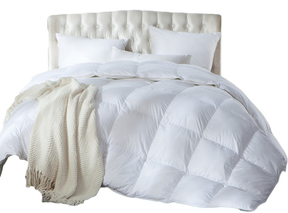 Luxurious Full Queen Size Siberian Goose Down Comforter