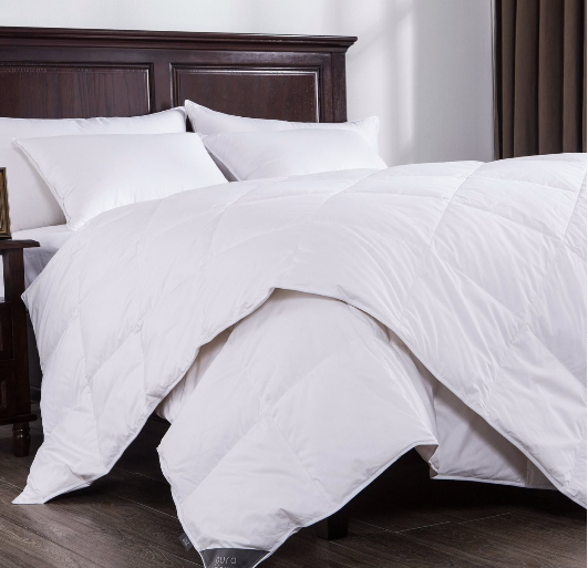 Puredown Lightweight White Down Comforter